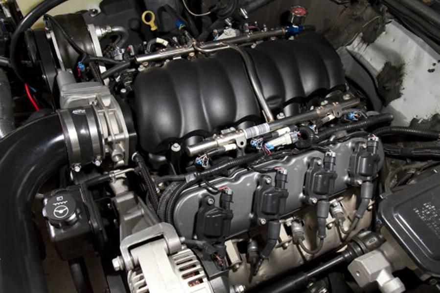 Holley Aluminum GM/LS Valve Cover Set, Black Finish