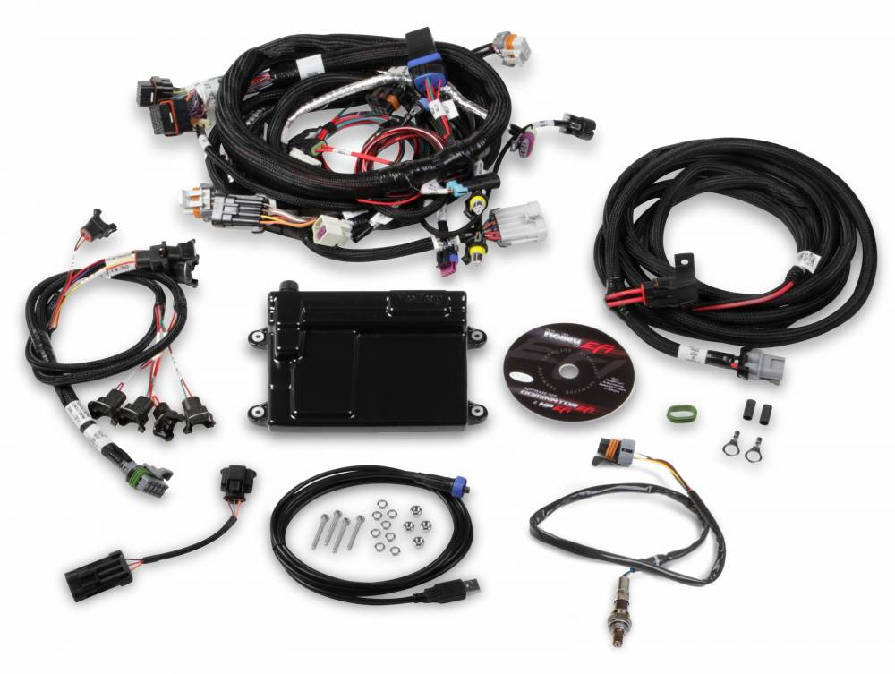Holley HP LS EFI ECU & Wiring Harness, For 58x Cranks on