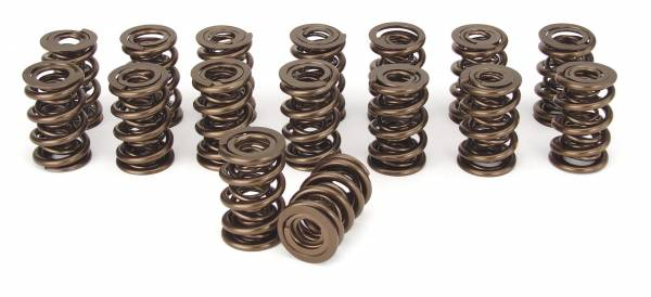 Comp Cams - Comp Cams Valve Springs, Triple, 1.645 in. OD, 686 lbs./in. Rate, 1.130 in. Coil Bind Height, Set/16
