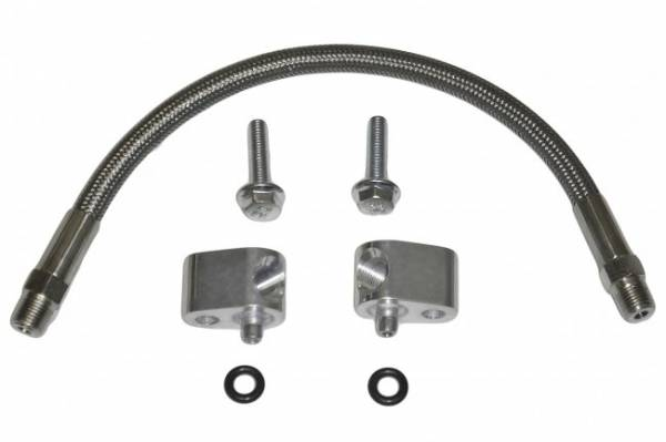 ICT - ICT Billet Coolant Crossover Hose Kit, Throttle Body Bypass