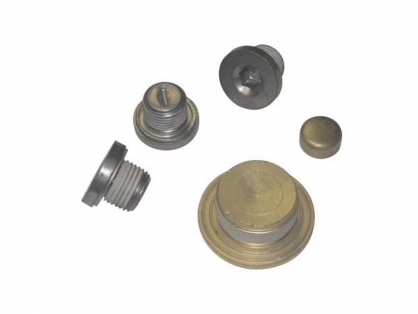Melling - Melling LS Brass Block Plug Kit
