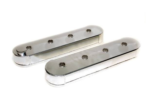 PRW - PRW LS Aluminum Valve Covers. w/o Coil Stand Offs, Polished