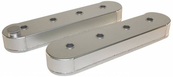 PRW - PRW LS Aluminum Valve Covers. w/o Coil Stand Offs, Satin