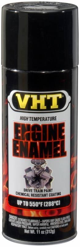 VHT - VHT Black Gloss Engine Paint, 11oz