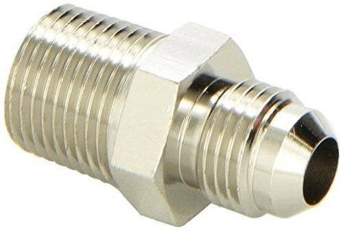 Russell - Russell AN to NPT Adapter Fitting, Endura Finish, -6 Flare X 3/8 NPT