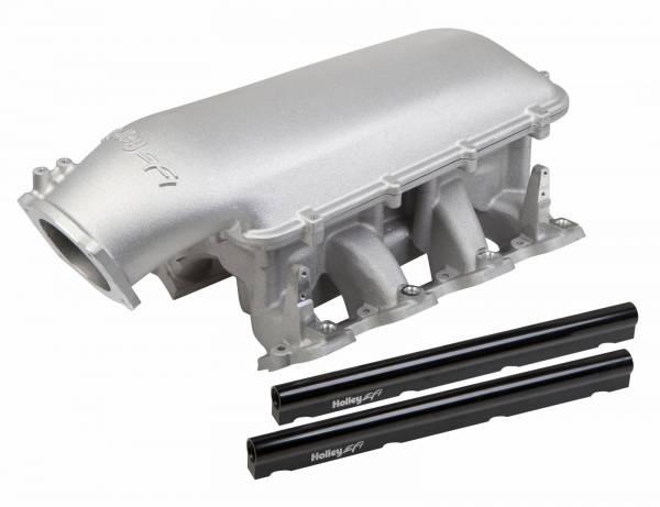 Holley - Holley GM/LS EFI Mid-Rise Intake Manifold,92mmLS3, L92