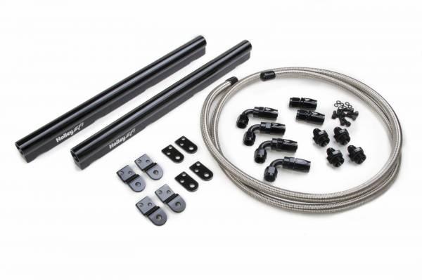 Holley - Holley LS Hi-Flow Fuel Rail Kit