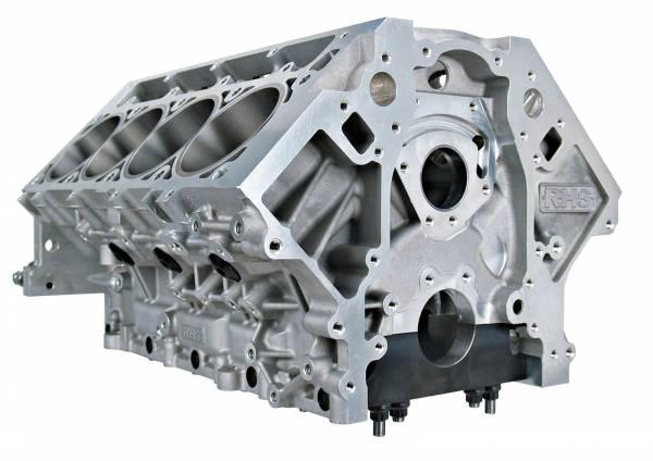 "RHS - RHS LS Aluminum Race Block, Standard Deck, 9.240-9.250"""