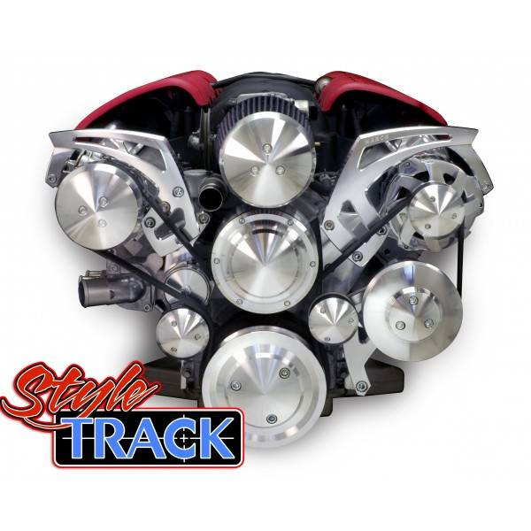March - March Performance LS Track Style Serpentine Systems, Standard Kit