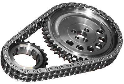 JP Performance - JP Performance Billet Double Roller Timing Set, 1X Cam Gear, LS1, LS2, 4.8, 5.3, 6.0L