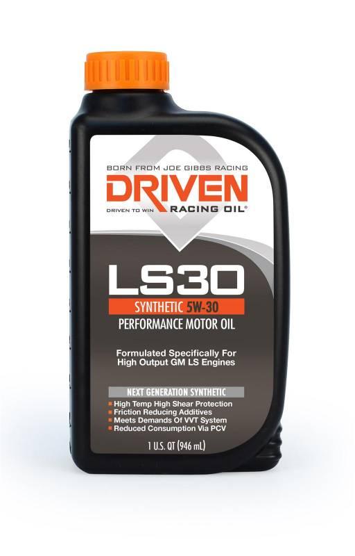 Driven - Driven Synthetic LS30 Motor Oil, 5W-30, Quart, JGD-02906-1