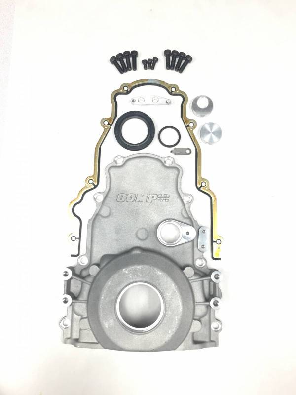 Comp Cams One Piece Timing Cover, For HRS and Stock Blocks, Each