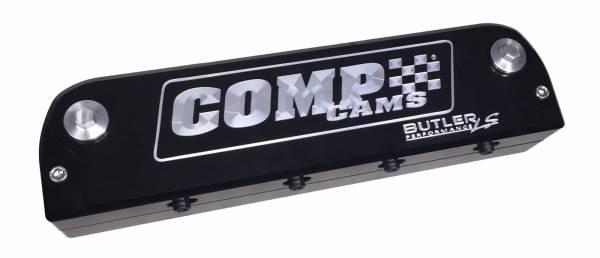 Butler LS - Butler LS Custom Black Billet Aluminum Valve Covers, with Coil Covers