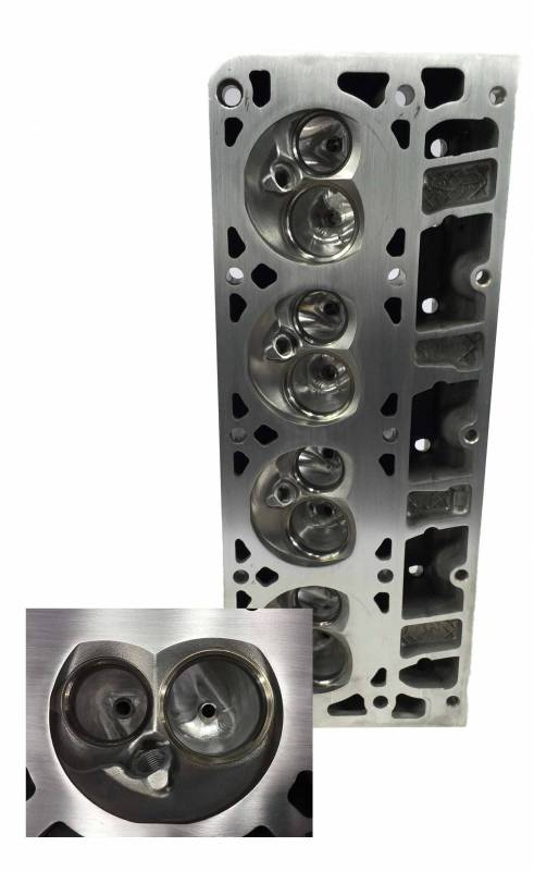 Butler LS - Custom Factory Head Porting, Cathedral or Rectangle Port, Customer Supplied Castings