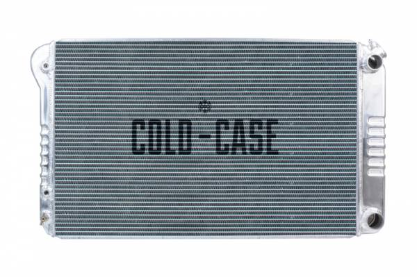 Cold Case  - Cold Case 1968-1972 GM A-Body with (LS SWAP) Aluminum Performance Radiator. AT or MT cars