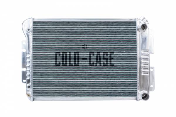 Cold Case  - Cold Case 1967-1969 F-Body (LS SWAP) Aluminum Performance Radiator. MT or AT Cars.