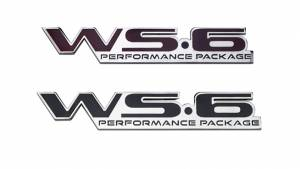 Max Performance 96-02 Firebird Trans Am WS6 Badge Emblem, Each