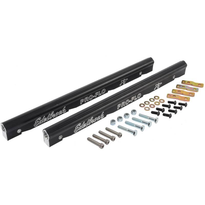 Edlbrock Pro-Flo XT EFI Aluminum Fuel Rail Kit, For LS1,LS2, Set/2
