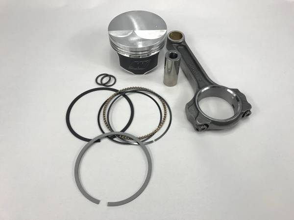 """Butler LS - Butler LS 5.3 Flat Top Piston and Rod Combination, 3.622"""" Stroke, .927 Pin, Kit"""