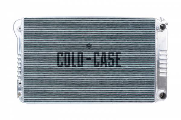 Cold Case  - Cold Case 1970-1981 F-Body (LS SWAP) Aluminum Performance Radiator. MT or AT Cars.