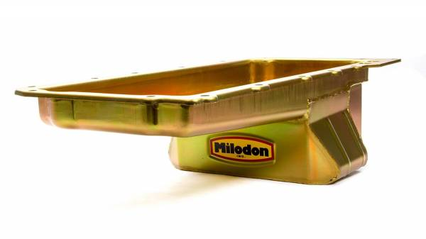 Milodon - Milodon LS Low Profile Street Strip Oil Pan, For 55-57 Chevy, Each