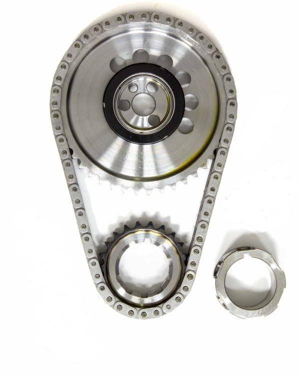 Rollmaster - Rollmaster Billet Single Roller Timing Set, 1X Cam Gear, LS2