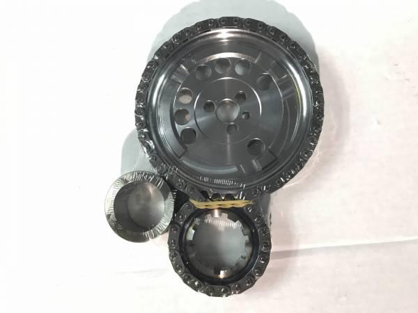 JP Performance - JP Performance Billet Double Roller Timing Set, 4X Cam Gear, LS3