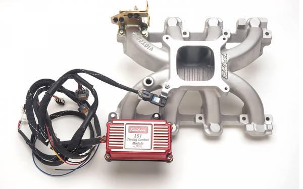 Edelbrock - Edelbrock Victor JR. LS1 Intake Manifold with Timing Control Module