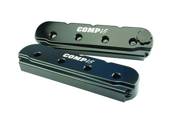 Butler LS - Comp Cams Billet Aluminum Valve Covers Laser Etched Comp LS Set/2