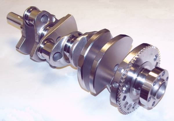 Eagle - Eagle LS Crankshaft, 4.125 in Stroke, with ESP Armor, 58x Reluctor