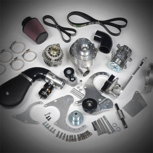 TorqStorm LS Conversion - Single Supercharger Base Tuner Kit without Accessories