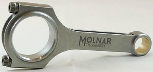 Molnar technologies - Molnar GM/LS H-Beam Rods 6.125, Stroker Heavy Duty PWR ADR series Set/8