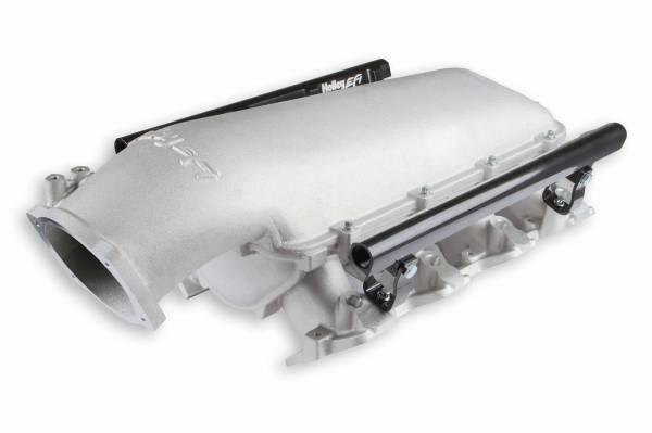 Holley - Holley GM/LS EFI Low-Ram Intake Manifold, LS1, LS2, LS6