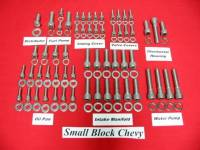Other GM Engines - GM Gaskets / Fasteners / Mounts - Butler LS - Butler BLS-A-5645 - GM V8 Stainless Steel Engine Allen Bolt Kit (Non EFI)
