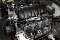 Holley - Holley Aluminum GM/LS Valve Cover Set, Black Finish - Image 4