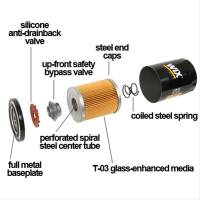 WIX - WIX LS Oil Filter, Full Flow, Enhanced Cellulose,  13/16-16 Thread - Image 2