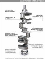 Scat - Scat Custom Billet Crankshaft - Image 2