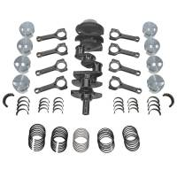 Eagle - Eagle Competition LSRotating Assembly, Stroker Kit, 6.0, LQ4, w/LS3 Rectangular Port Heads, 4.000 Stroke, 4.005-4.030 Bore, 403-408 cu.in.
