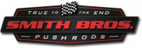 Smith Bros - Smith Bros Custom Length Chromoly Pushrod, 5/16 x .116 One Piece W/Shaft Rocker Ball 1/end, Set/16