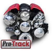 Engine Components- External - Accessory Drive Kits/Pulleys - March - March Performance LS Pro-Track Style Serpentine System Kit