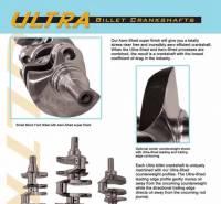 Callies - Callies Ultra Billet LS Crankshaft, 4.000 Stroke, 2.100 RJ, Each - Image 2