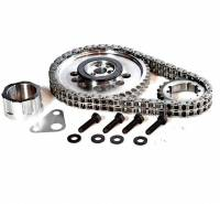 Rollmaster - Rollmaster Billet Double Roller Timing Set, 1X Cam Gear, LS1, LS2, 4.8, 5.3L