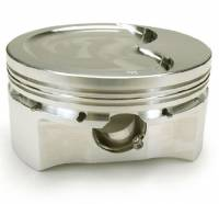 "Pistons - 4.000"" Stroke - Diamond - Diamond Street/Strip Dish Top Piston, 4.000"" Str., LS1, LS2, LS3, LS6, LS7, L92,  Set/8"