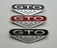 Exterior & Dress Up - 04-06 GTO - Max Perfrmance 04 GTO 5.7L Fender Badge, Each