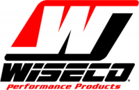 Wiseco - Wiseco LS1, LS2, LS3, LS6, LS7, L92, 6.0L, 3.622 Stroke, -25cc Dish Top Piston Kit, Choose Bore, Set/8