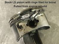 "Butler LS - Butler LS 5.3 Dish/Dome Piston and Rod Combination, 3.622"" Stroke, .945 Pin, Kit - Image 3"
