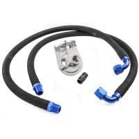 Engine Components- External - Oil Pan Accessories / Dipsticks - Milodon - Milodon LS Remote Oil Filter Kit, Each