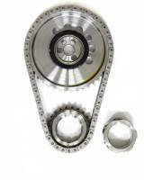Rollmaster - Rollmaster Billet Single Roller Timing Set, 1X Cam Gear, LS2
