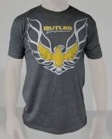 Apparel / Books - Butler LS Apparel - Butler LS - Pontiac Trans Am T-Shirt, Grey, Small-4XL BPI-TS-BP1615