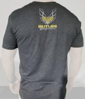 Butler LS - Pontiac Trans Am T-Shirt, Grey, Small-4XLBPI-TS-BP1615 - Image 2